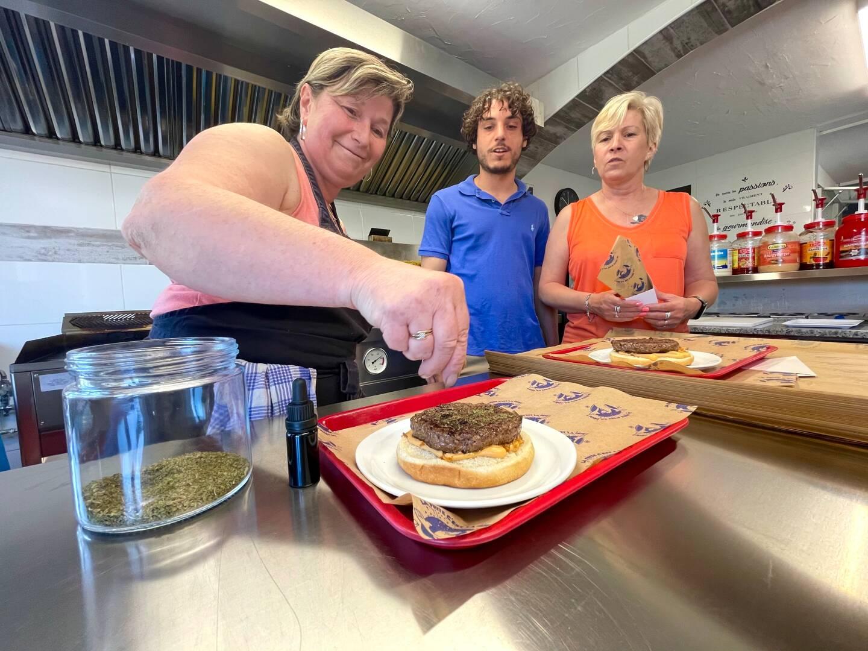 La Brocherie, le Papillon varois et La frite en folie commercialiseront les plats dans leur restaurant une fois que les produits seront testés ce week-end pas une dizaine de personnes.