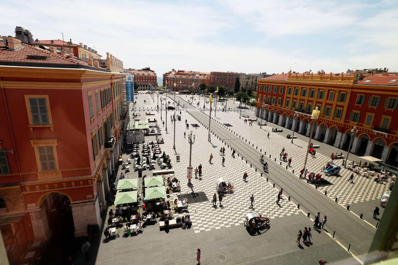La Place Masséna, au cœur de ce canton 100% niçois.