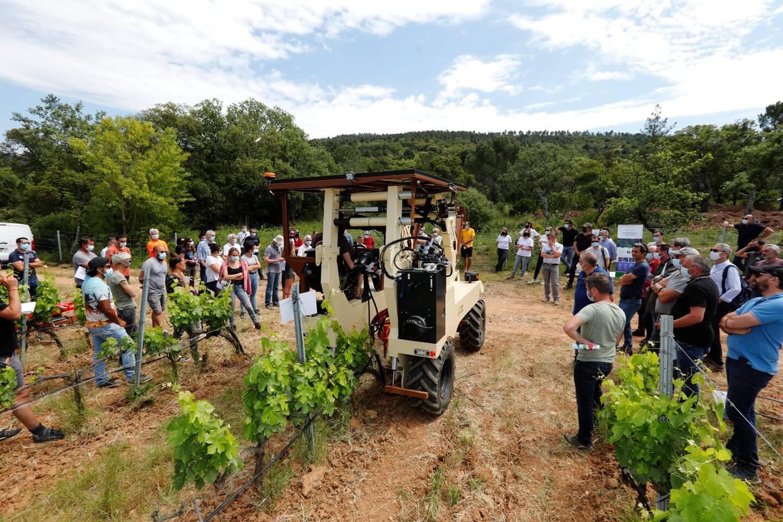 Des technologies au service d'une viticulture plus respectueuse.
