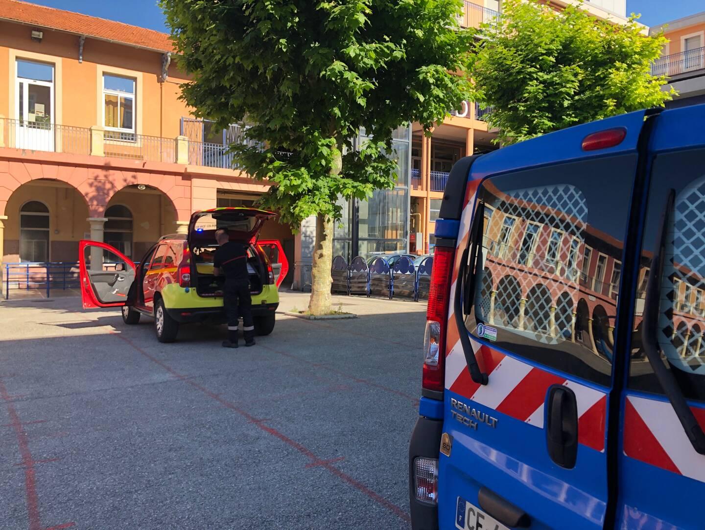 Une fuite de gaz a été déclarée au lycée Don-Bosco, hier matin, peu avant huit heures.