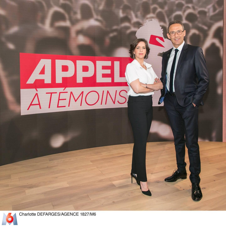 Nathalie Renoux et Julien Courbet. (Photo Charlotte Defarges/Agence 1827/M6)