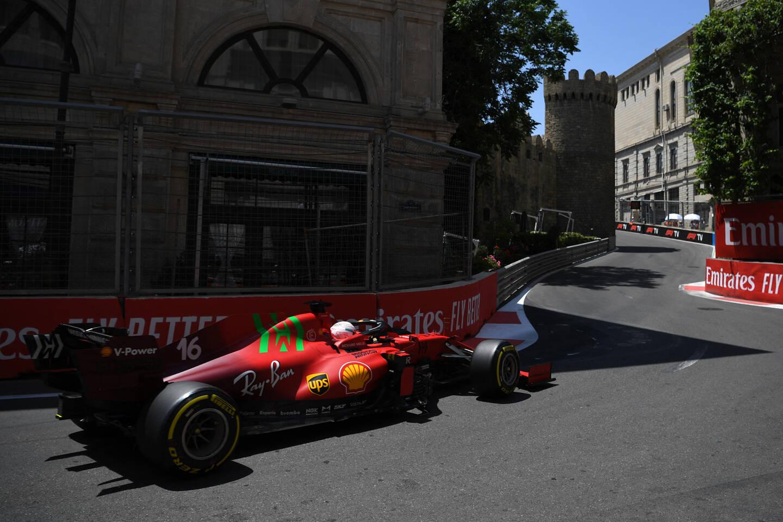 Charles Leclerc obtient sa neuvième pole position en carrière à Bakou.