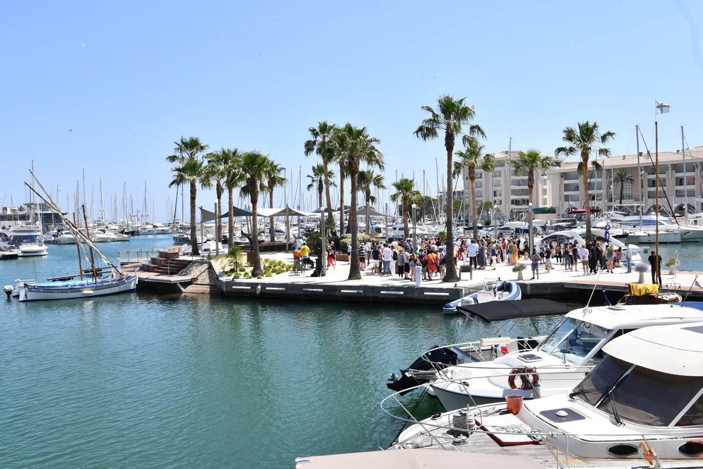 L'îlot de Port-Fréjus vise à accroître l'attractivité du quartier ainsi qu'à sensibiliser sur la biodiversité sous-marine.