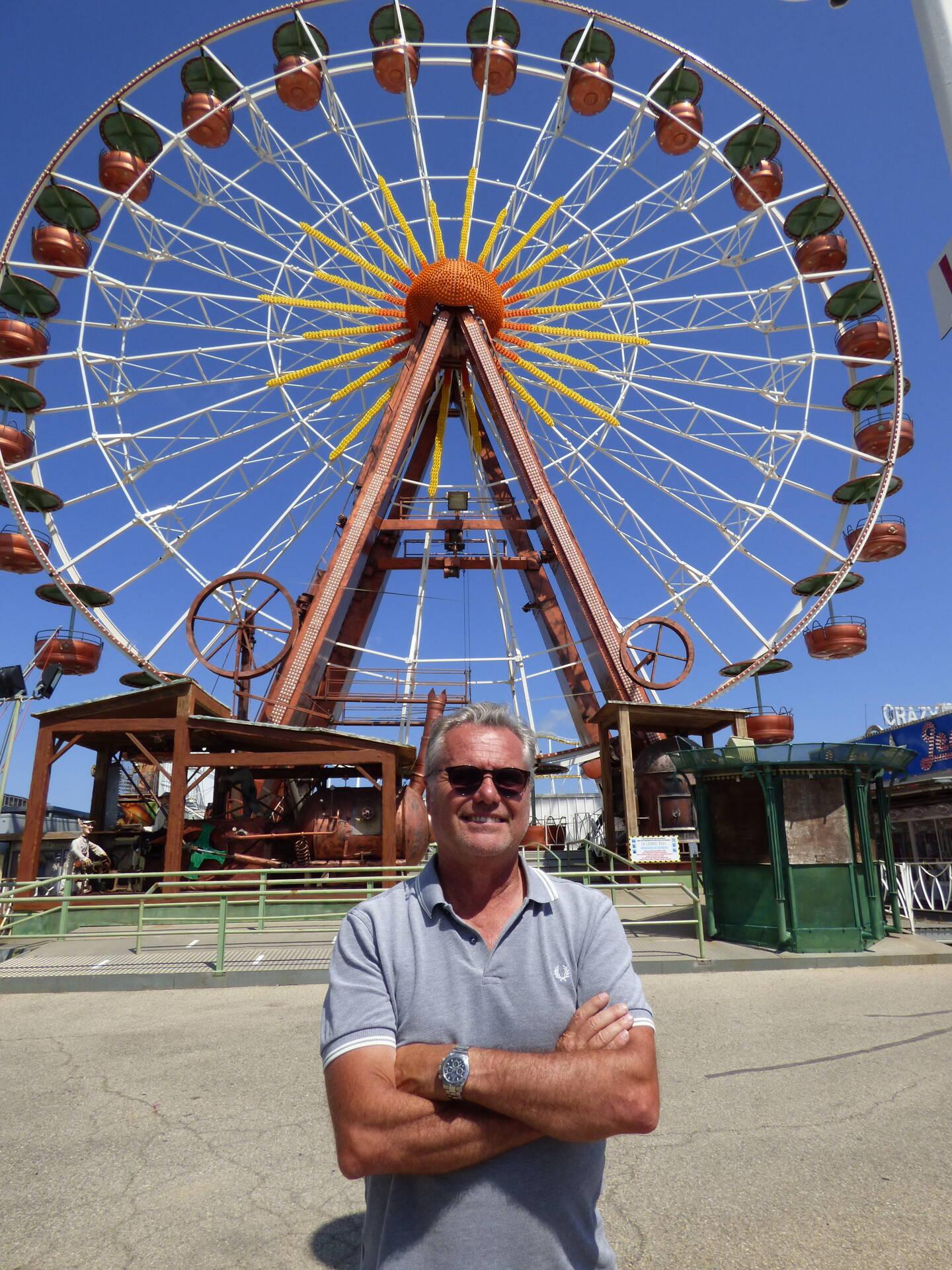 Serge Paillon, au cœur du parc depuis 1968.