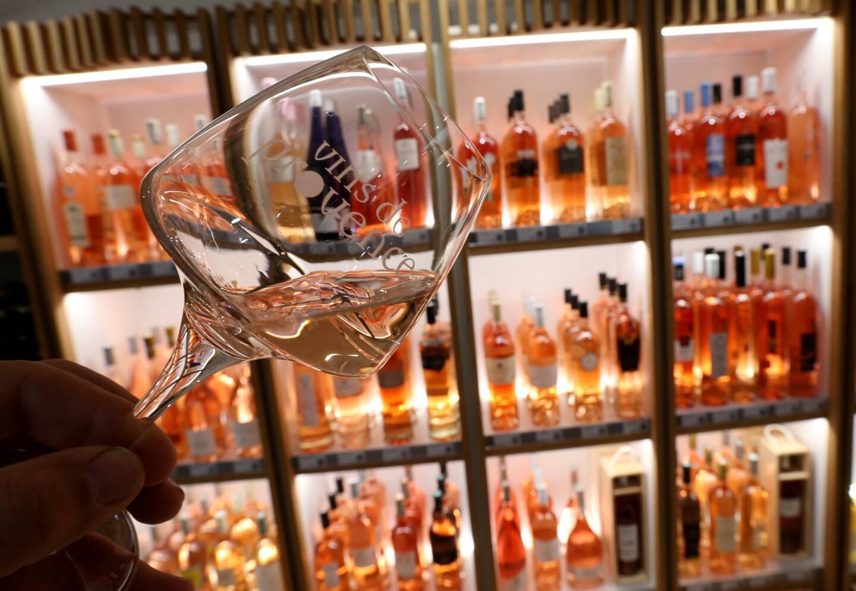La Maison des vins aux Arcs est un bel écrin pour les Côtes de Provence, et plus particulièrement pour la couleur reine: le rosé. (Photo Philippe Arnassan)