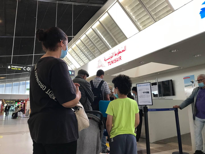 Destination Tunis pour Amina et son fils.