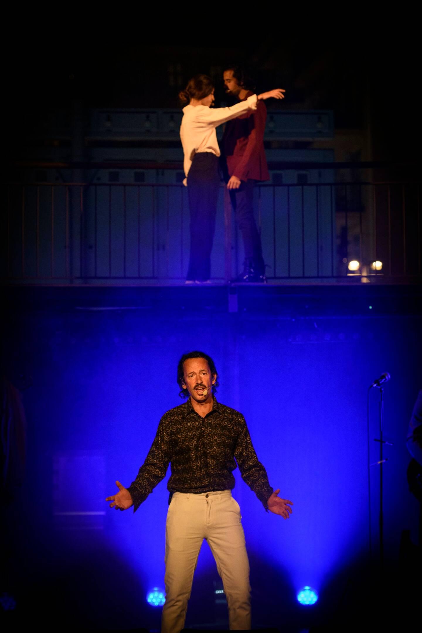 Cyrano chantera son amour pour Roxane jusqu'au 26 juin sur le port de Nice.