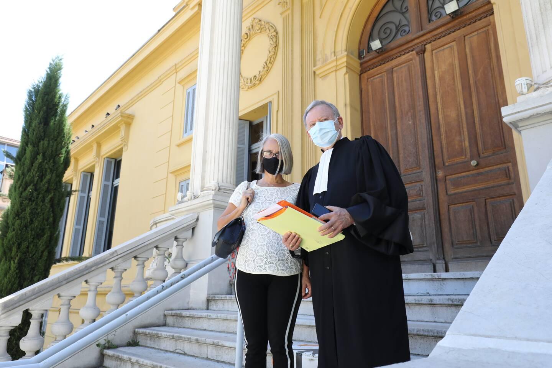Audience au tribunal - Affaire Rudy Salles/ Julie Mallet