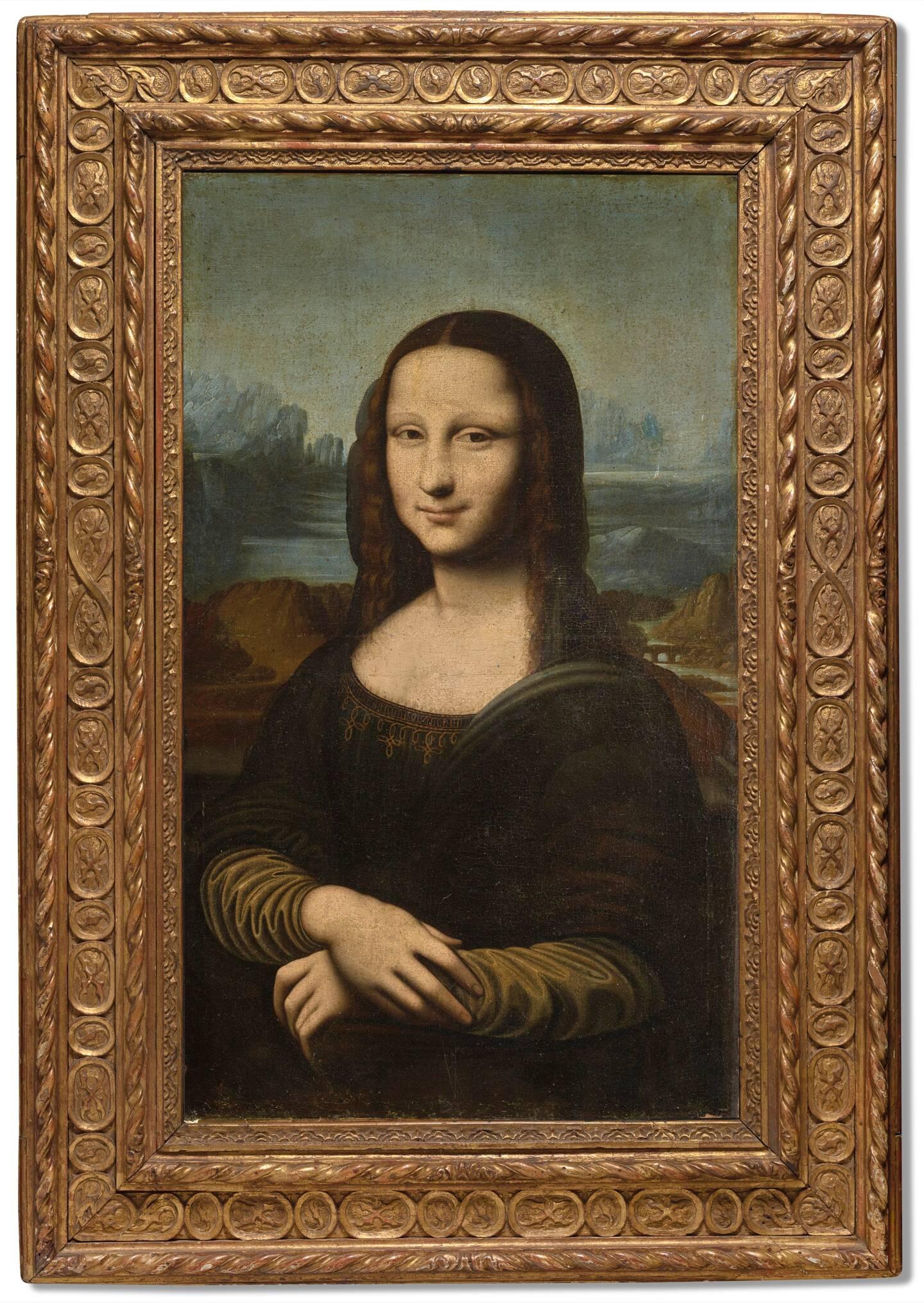 """La """"Mona Lisa Hekking"""", en vente sur le site de Christie's."""