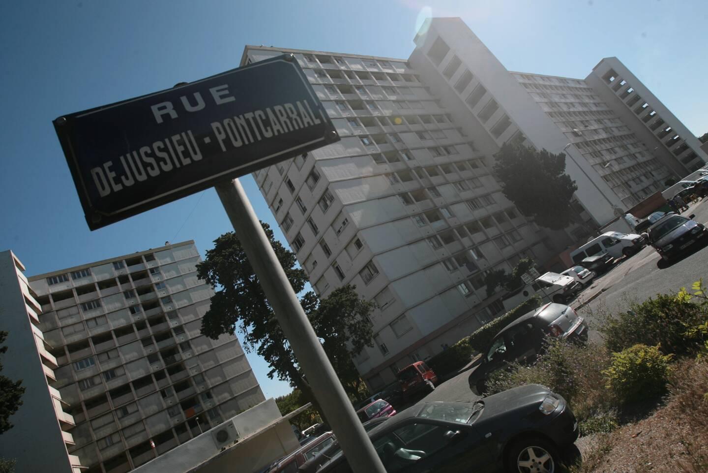 La résidence Pontcarral, à l'entrée ouest de Toulon.