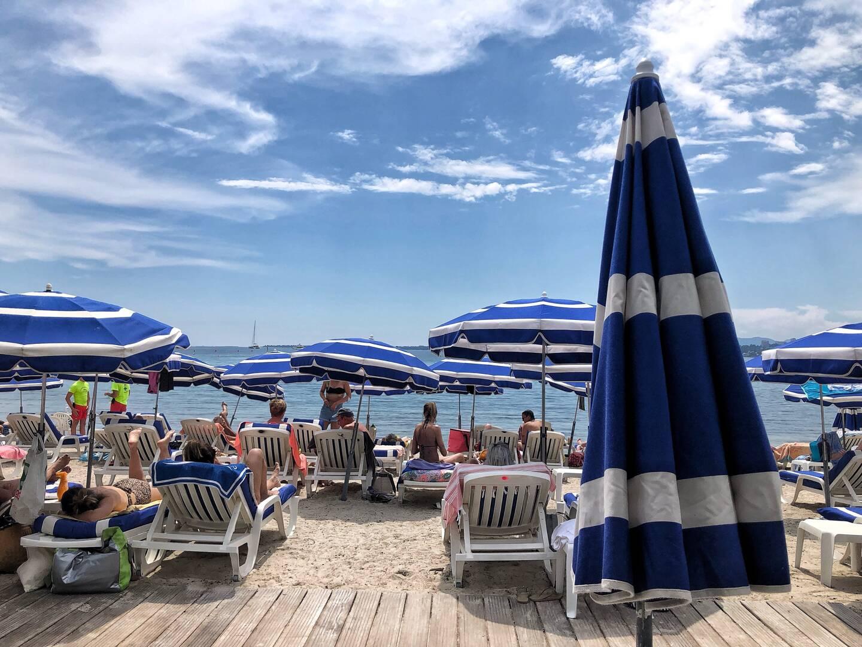 Les plages ferment leurs parasols le 15septembre.