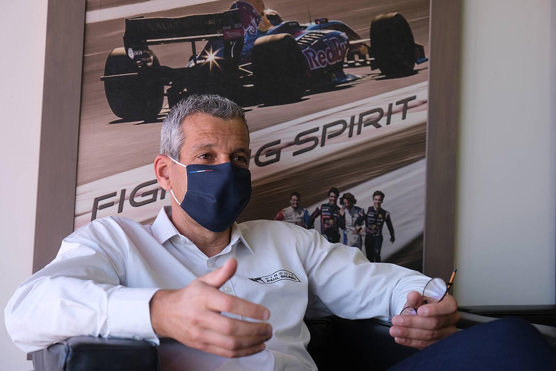 Stéphane Clair est prêt à enchaîner deux GP de France en deux semaines.