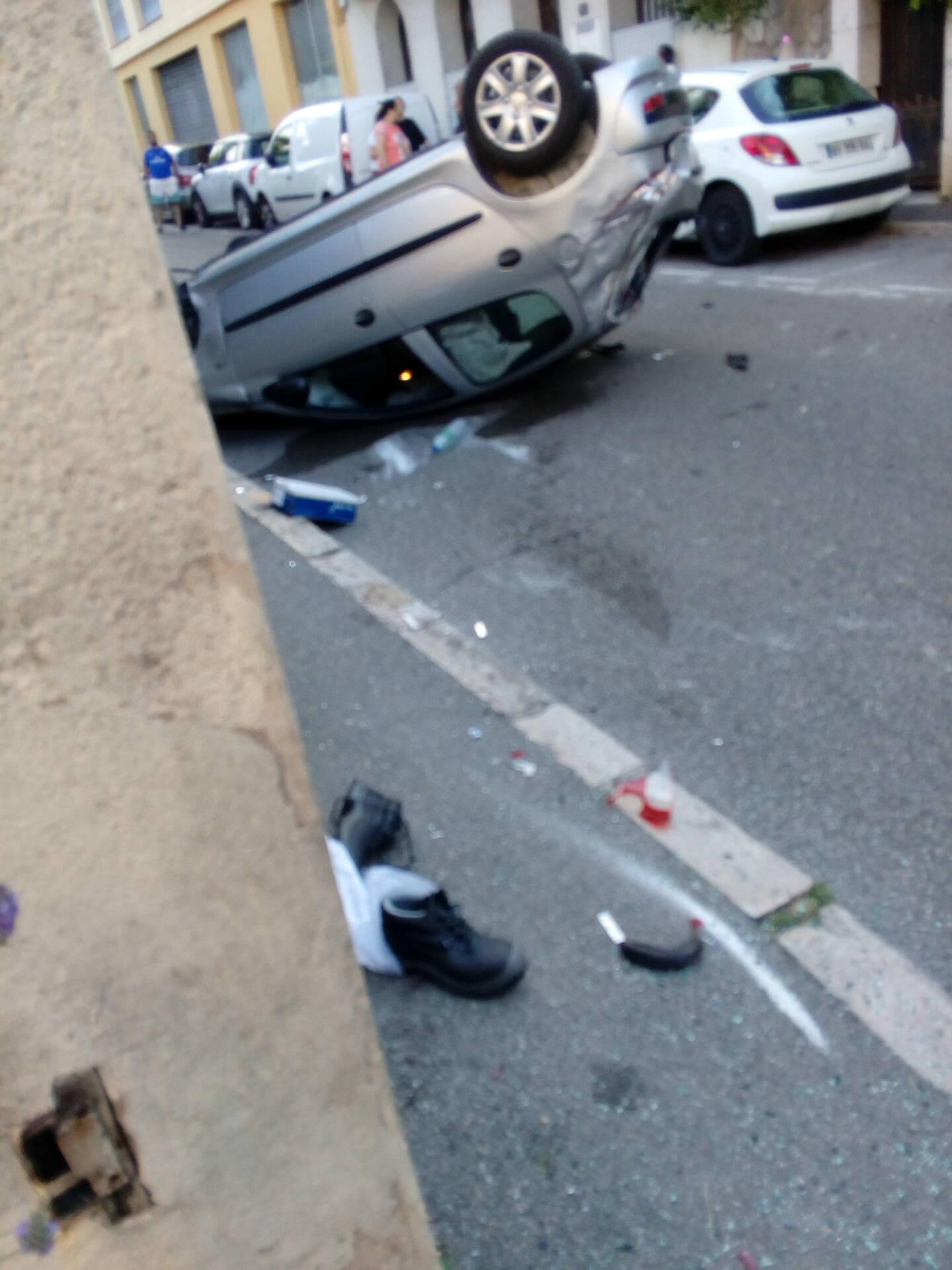 Spectaculaire accident ce jeudi soir à Grasse.