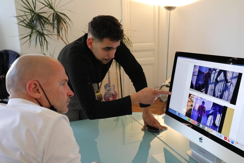 Rami Sahli, assisté par son avocat maître Jean-Pascal Padovani, a porté plainte contre Netflix. (Photo Eric Ottino)