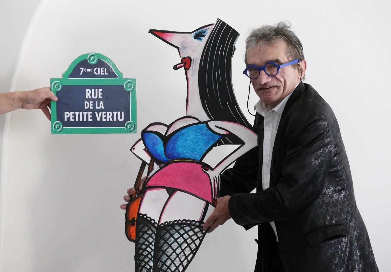 """En 2018, Rémy Molinari était venu à notre agence niçoise présenter son livre """"Rue de la petite vertu"""". Un grand moment de rigolade."""