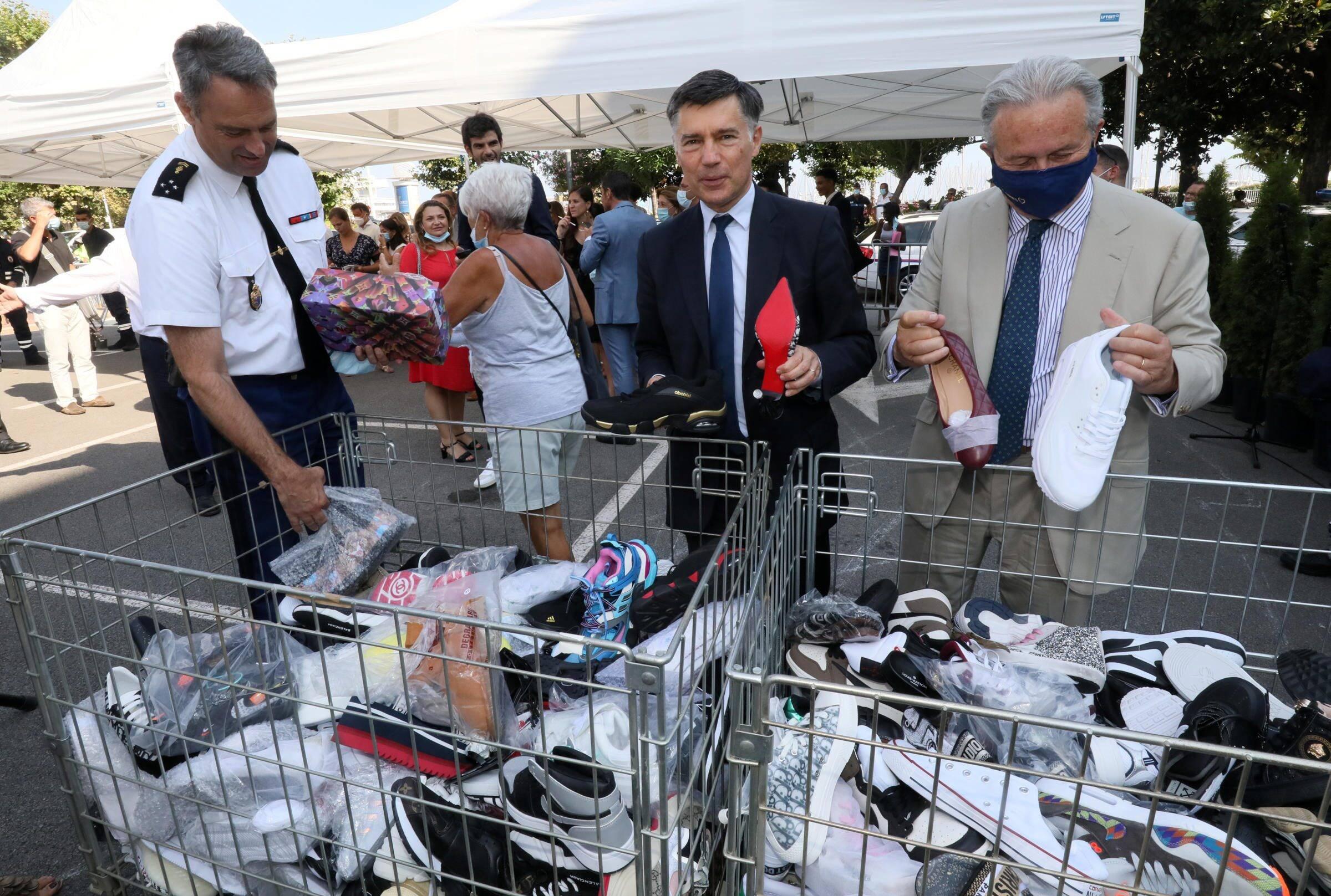 Textiles, chaussures, téléphones... Le top 5 de la contrefaçon dans le Sud de la France