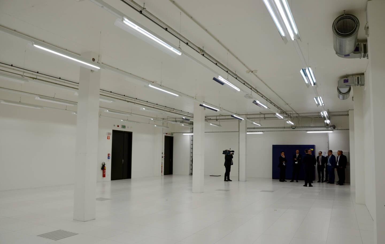 C'est dans cette pièce blanche que seront installées, d'ici le printemps 2022, les infrastructures numériques monégasques.