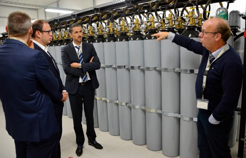 Une délégation monégasque avait visité le data center au Luxembourg, fin 2018, et découvert l'importante sécurité du site. Ces bonbonnes d'azote, par exemple, permettent d'envoyer du gaz neutre pour circonscrire un début d'incendie.