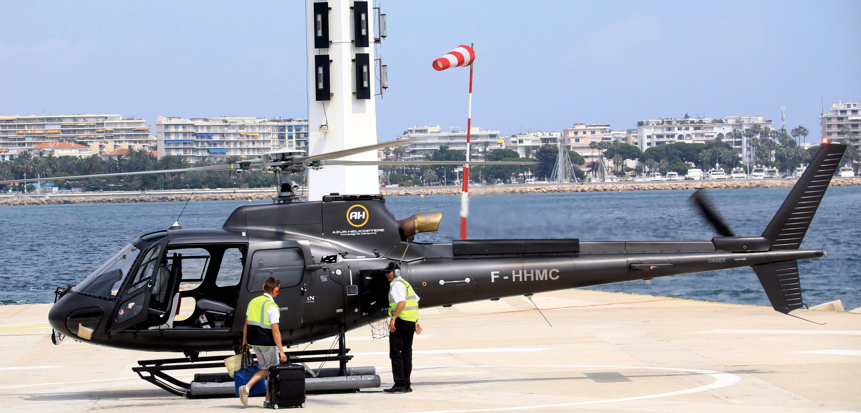 À Cannes, l'hélistation turbine à plein régime… et ça ne fait pas que des heureux