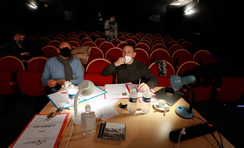 Les producteurs Gil Marsalla, Philippe Hattemberg, et Stéphane Brunello ont fait passer des castings ce jeudi, pour leur comédie musicale inspirée de Cyrano de Bergerac, qui sera jouée cet été sur le port de Nice