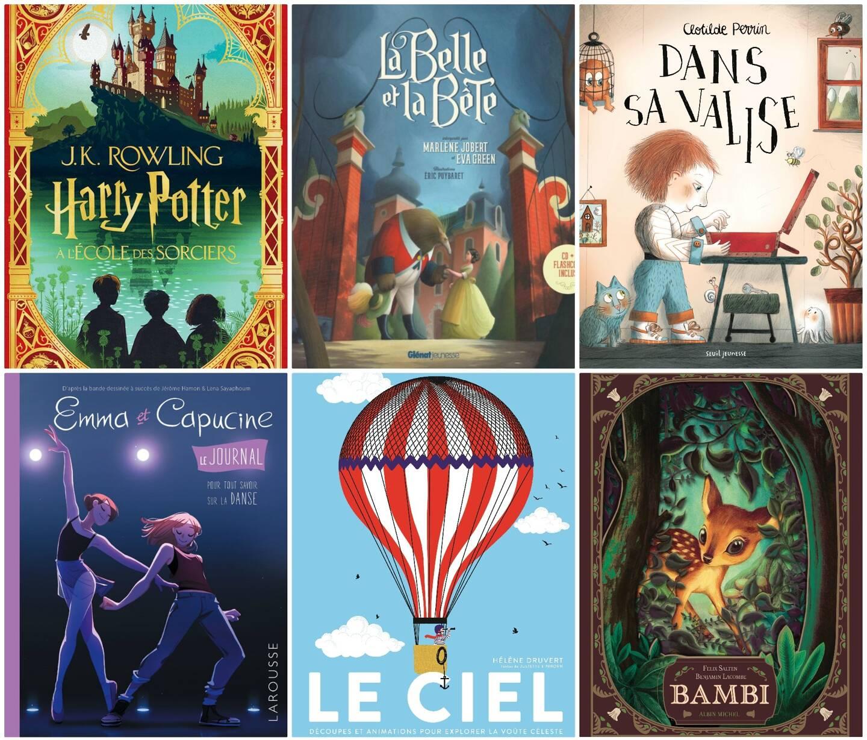 Voici notre sélection de six beaux livres, au cas où vous manqueriez d'idées...