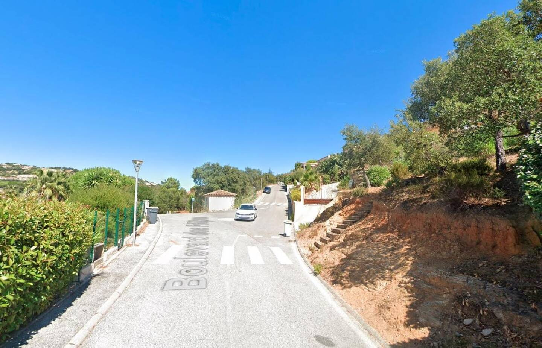 Le boulevard des Félibres, à Sainte-Maxime