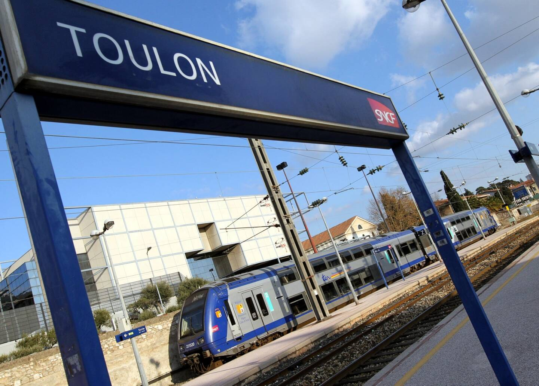 La gare de Toulon.