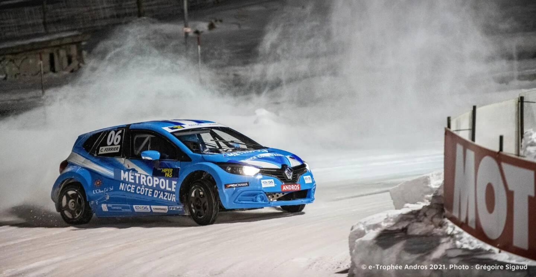 Ce vendredi et ce samedi, Christophe Ferrier va faire le show - à huis clos - sur la glace du circuit d'Isola 2000.