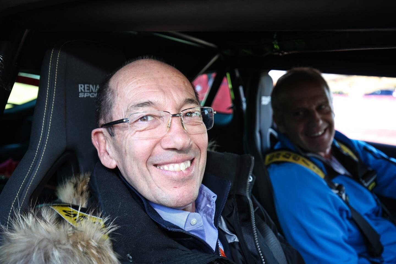 Christian Tornatore, commissaire général de l'Automobile Club de Monaco et directeur de l'épreuve.