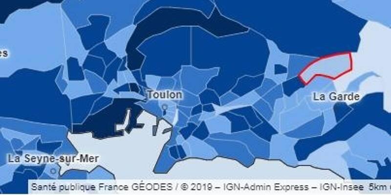 Quartier par quartier, comment circule le virus de la Covid-19 sur la commune de Toulon - Var-Matin