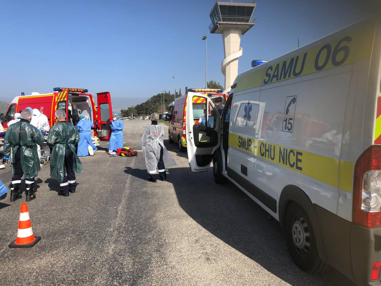 Les patients sont transférés vers Brest.
