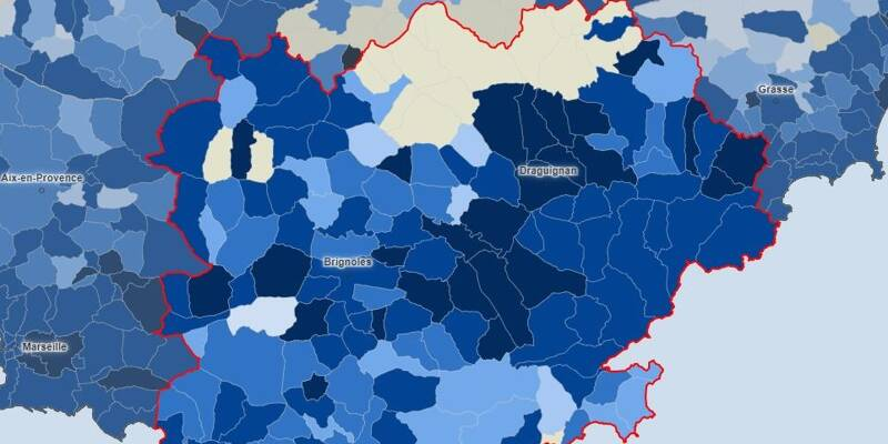 La situation s'est-elle améliorée dans votre commune? La carte de l'épidémie de Covid-19 dans le Var - Var-Matin