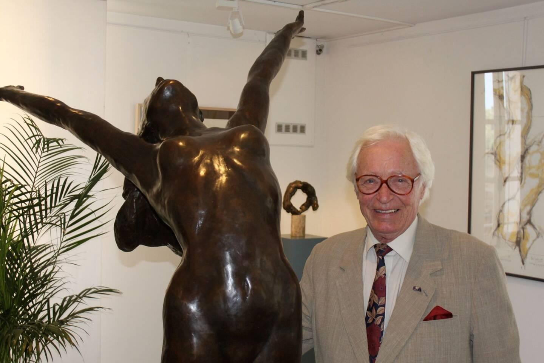Kees Verkade et sa sensibilité traduite par le bronze.