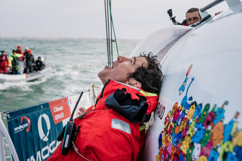 Clément Giraud ne réalise pas encore bien qu'il vient de finir le tour de la Terre.