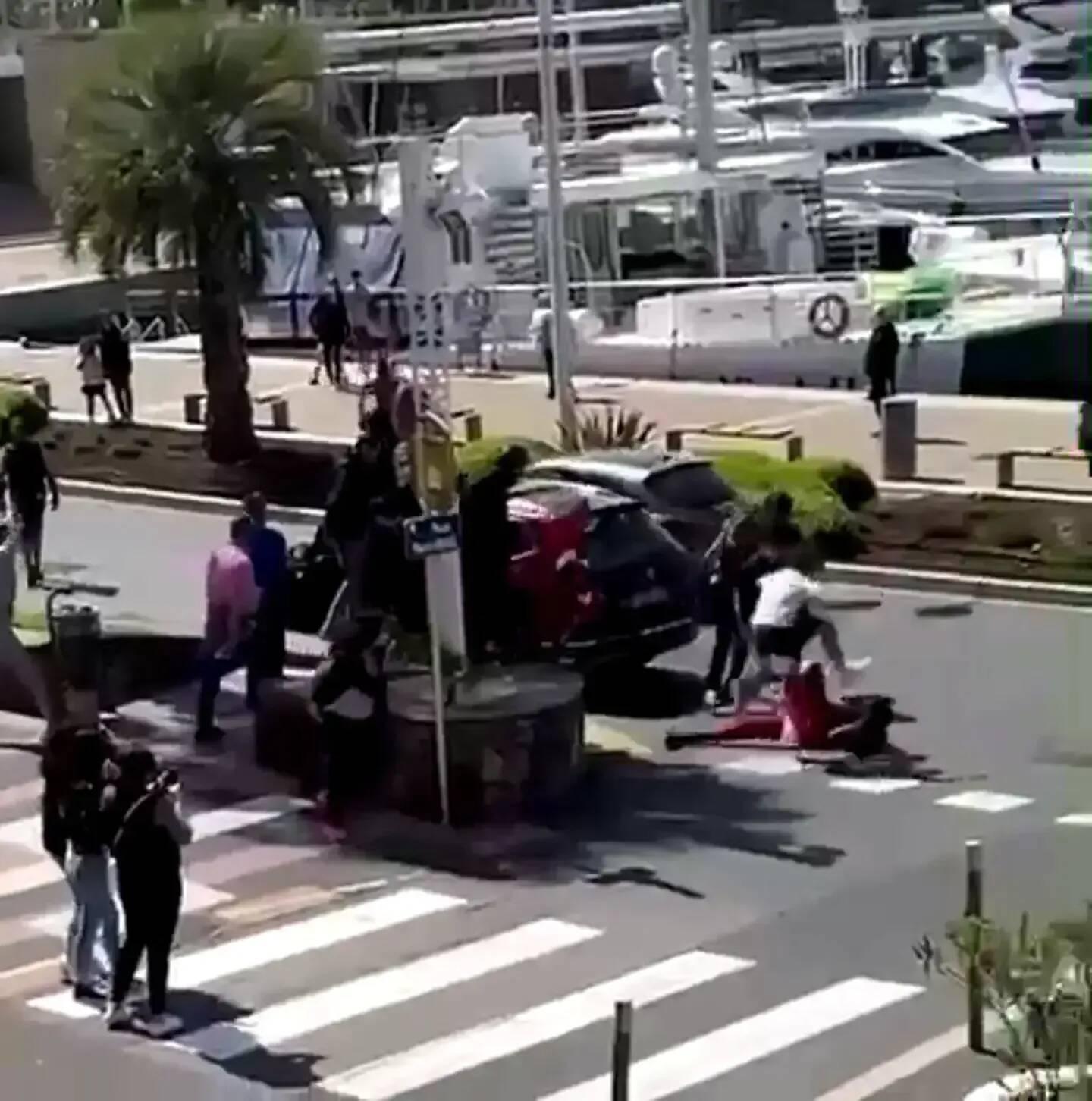 Une violente rixe s'est déroulée lundi à Saint-Raphaël.