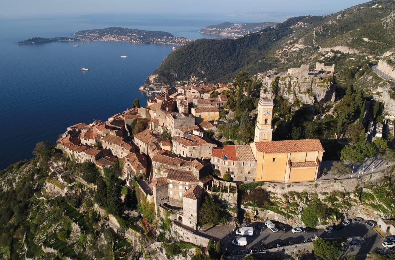Une vue du village perché d'Eze sur la Côte d'Azur (illustration).