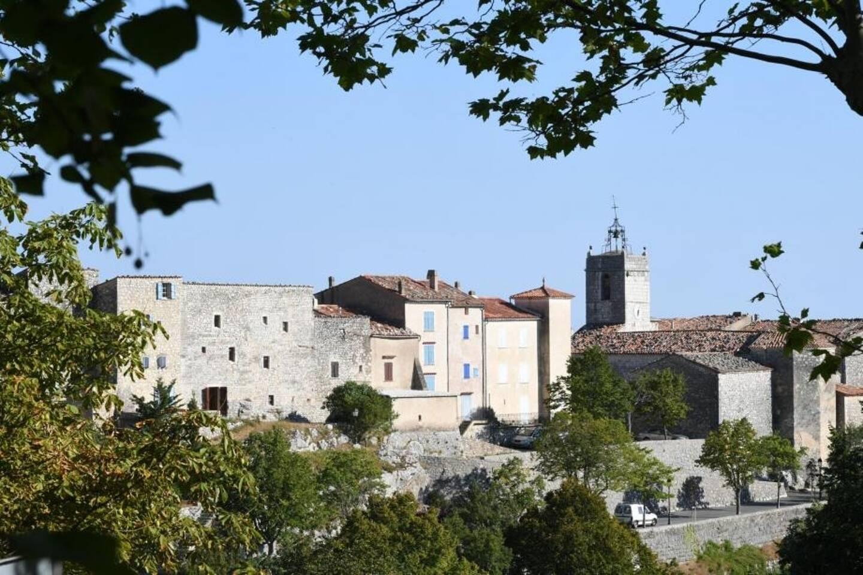 Une vue du village de Mons, dans le Var (illustration).