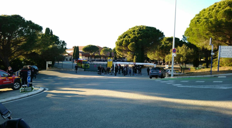 A la suite d'un appel inquiétant au collège Berthe de Sainte-Maxime, ce jeudi vers 14h30, un immense dispositif de sécurité a été mis en place.