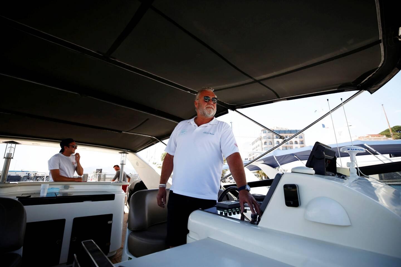 Mathieu Reix, président de l'association organisatrice SOS Navigation et capitaine de yacht à Cannes.